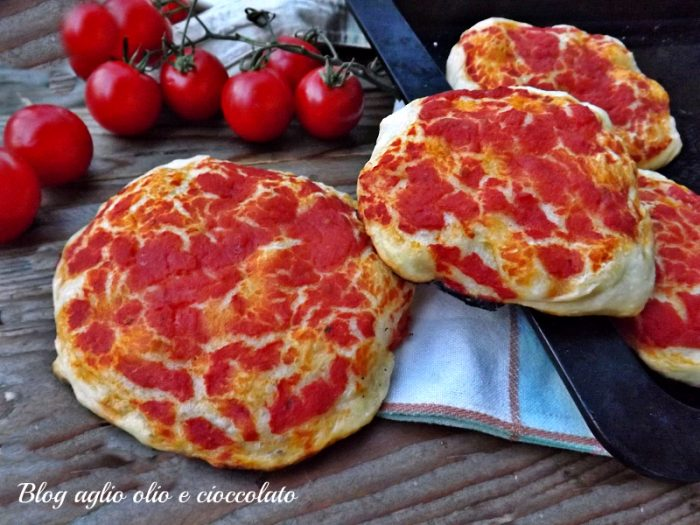 Pizzette Rosse Morbide