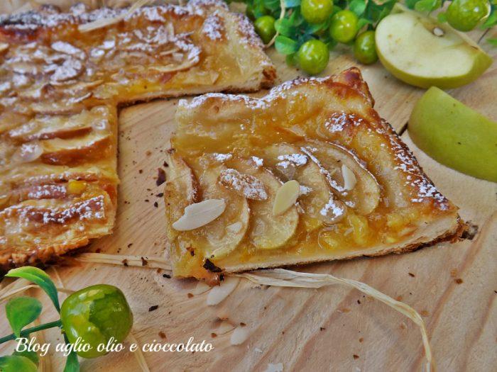 Torta Sfogliata Pompelmo e Mela Verde