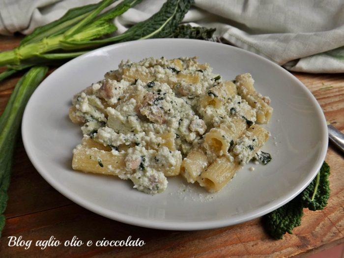 Pasta con Ricotta e Cavolo Nero