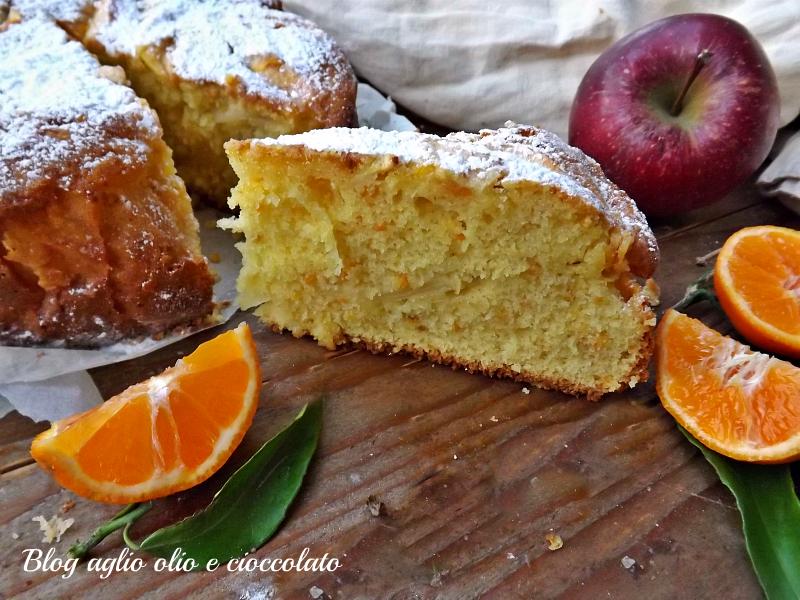 torta clementine e mele