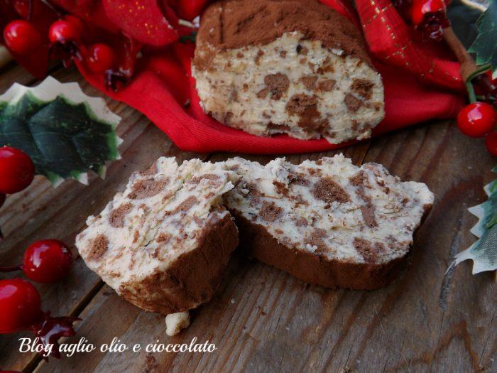 Salame di Cioccolato Bianco