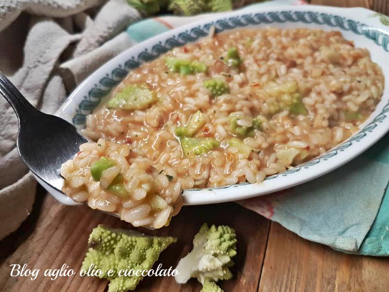 risotto con broccoli cremoso