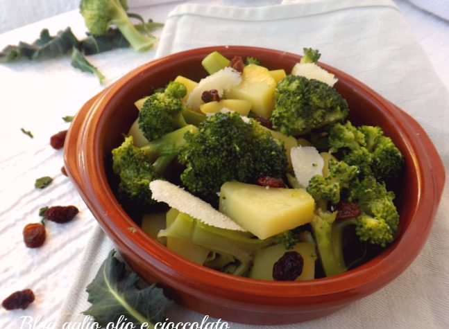 INSALATA BROCCOLI E PATATE