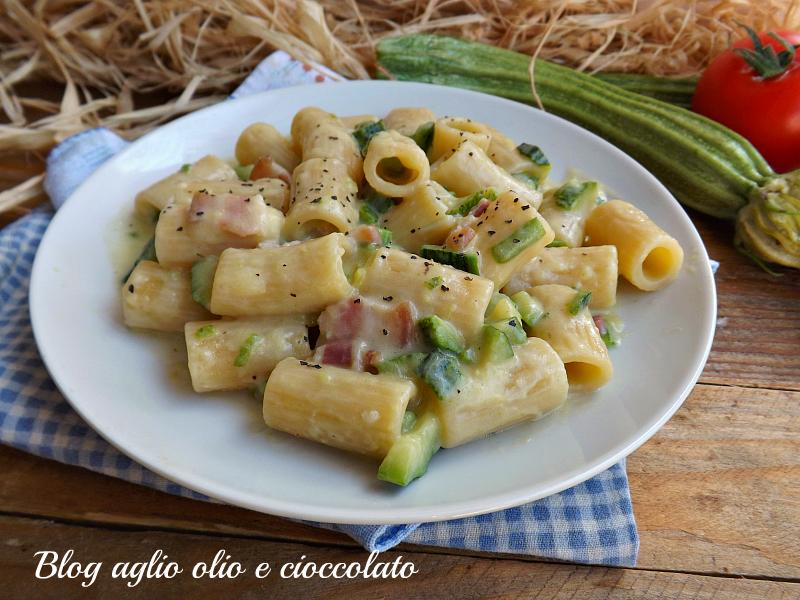 Ricette pasta con zucchine e formaggio