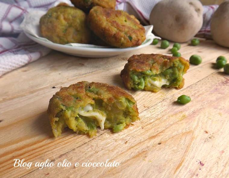 crocchette patate e piselli