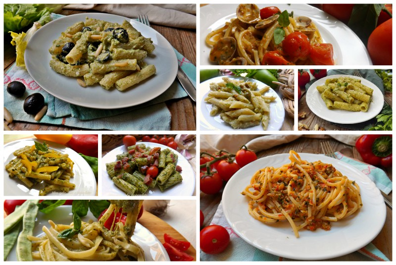 Primi piatti con il pesto ricette semplici veloci e con for Primi piatti particolari