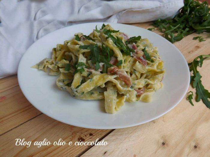 Fettuccine alla Rughetta e Gorgonzola