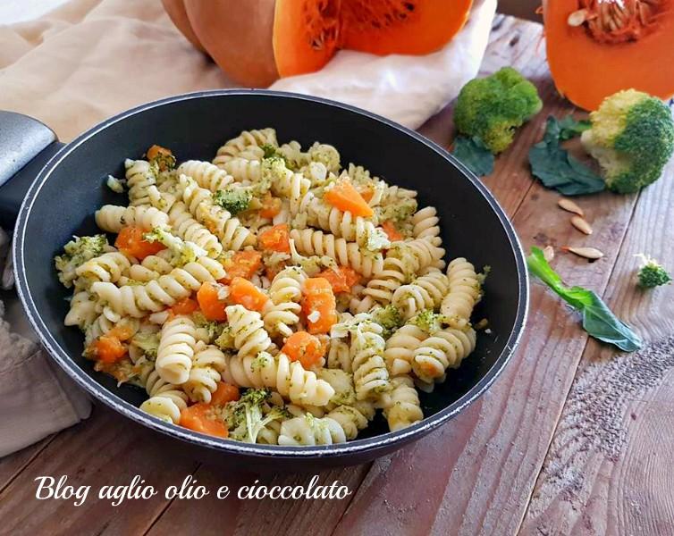 pasta broccoletti e zucca