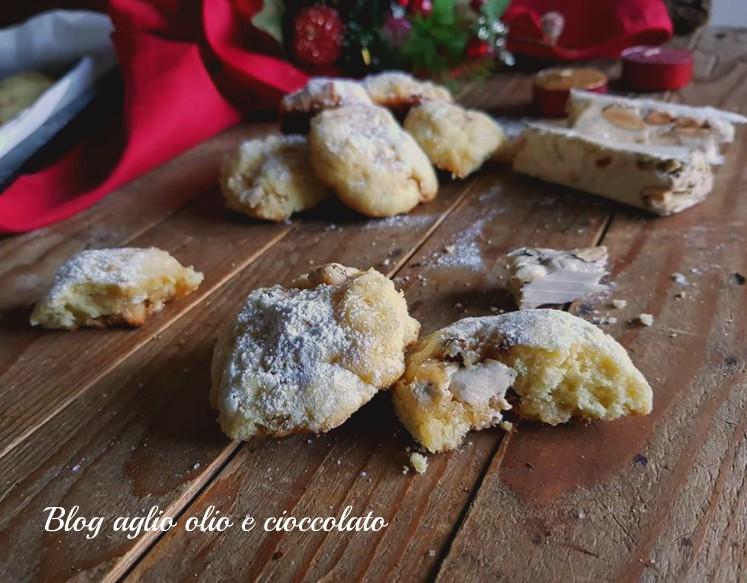 biscotti di Natale al torrone