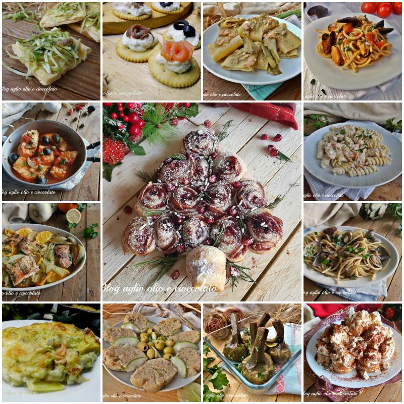menu' per la vigilia di Natale