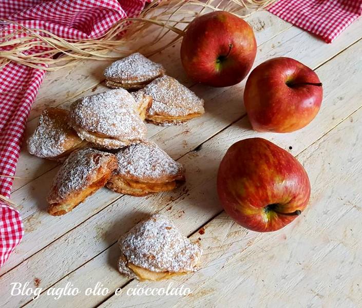 sfogliatelle mele e ricotta