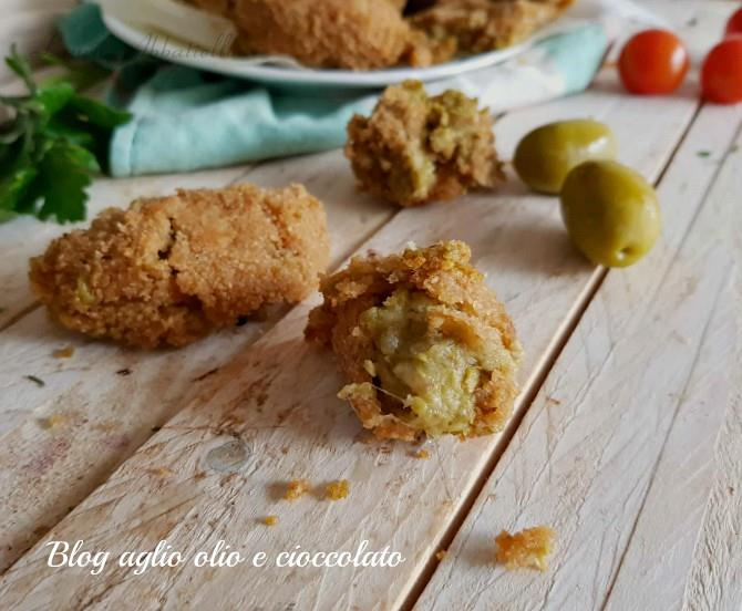 crocchette di patate e olive