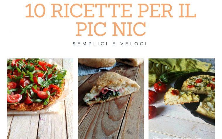 10 RICETTE PER IL PIC -NIC