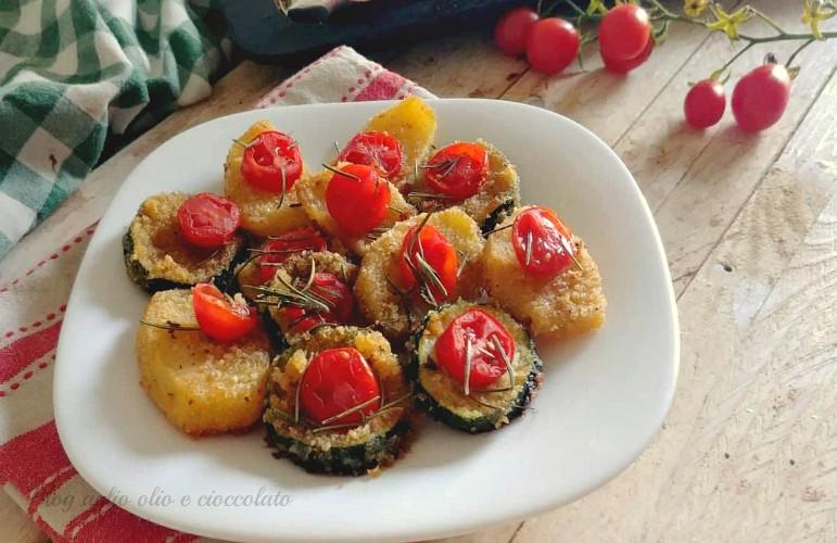 patate e zucchine alla pizzaiola