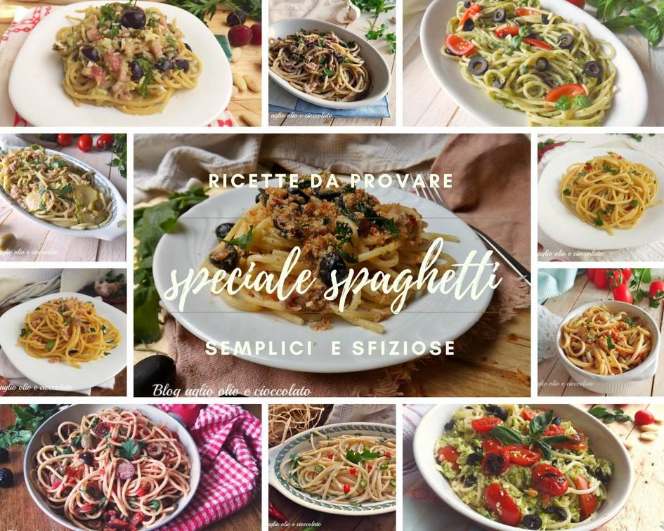 ricette veloci con gli spaghetti