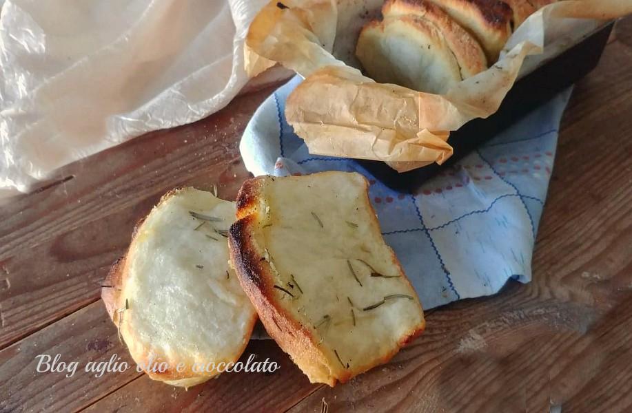 pane di patate sfogliato