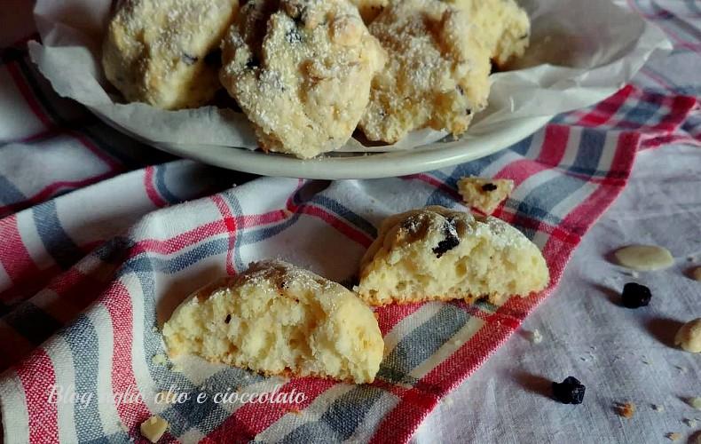 biscotti morbidi con la ricotta