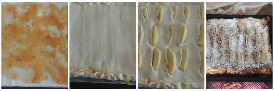 come fare la torta di mele sfogliata