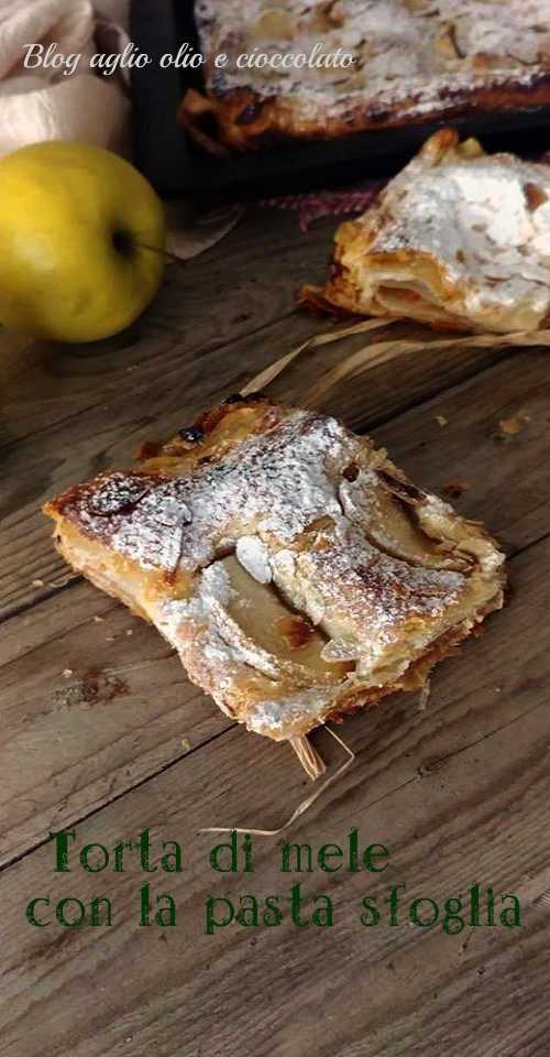 ricetta della torta di mele