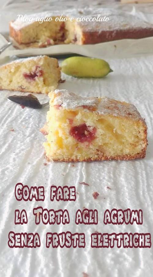 come fare la torta senza fruste elettriche