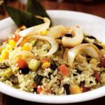 riso pilaf verdure curry