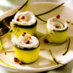 rotolini zucchine formaggio fresco
