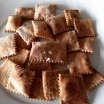 Crackers con esubero di li.co.li. e rosmarino