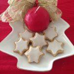 Zimtstern biscotti speziati tipici di Trento