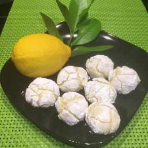 Biscotti screpolati al limone