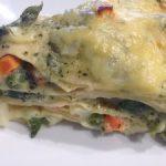 Lasagne alla genovese vegetariane