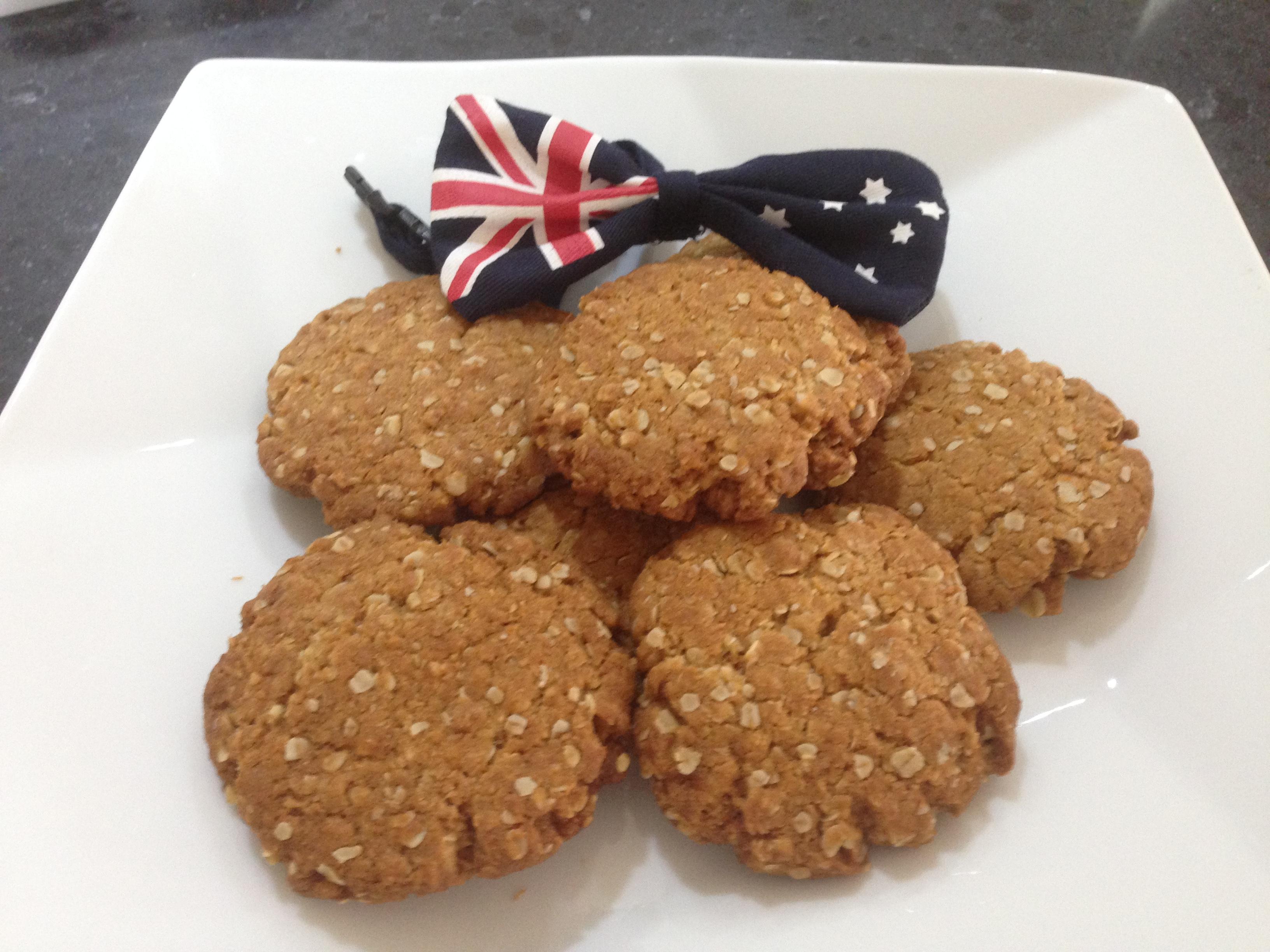 Anzac biscotti australiani for Cucina australiana