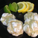 Biscotti screpolati GLUTEN FREE al limone/lime