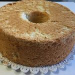 Angel cake alle mandorle