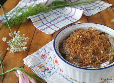 Tortino di alici – ricetta siciliana: Assulata