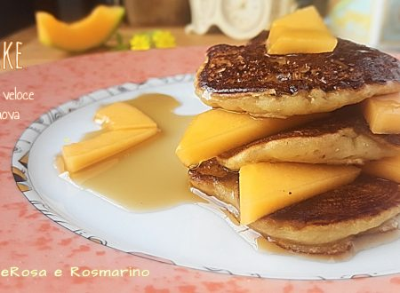 Pancake Ricetta Veloce senza uova nè burro