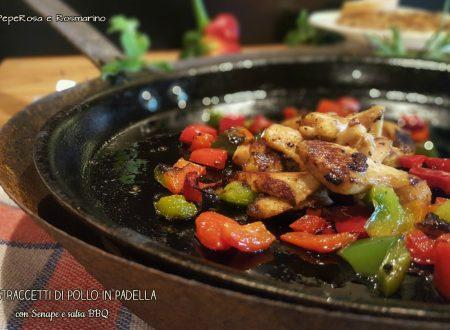 Straccetti di Pollo con Senape e Salsa BBQ