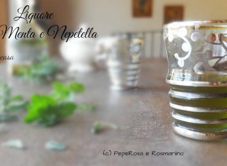 Liquore alla Menta e Nepitella fatto in casa