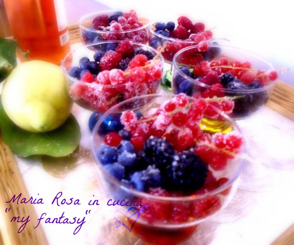 Frutti di bosco allo sciroppo