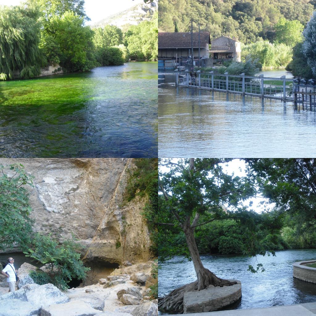 Fontaine de Vaucluse Collage