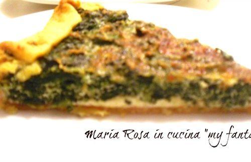 TORTA SALATA ricetta spinaci e speck