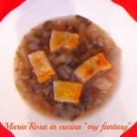 zuppa di radicchio
