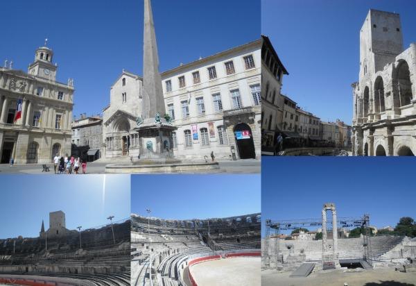 Arles centro Collage