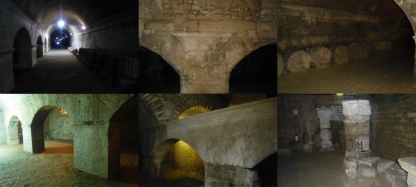 Arles criptoportici Collage