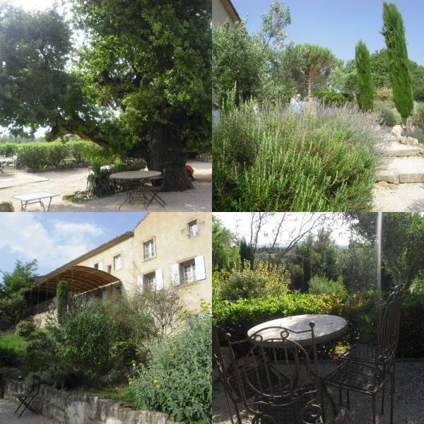 Hotel Bournissac scorci giardini