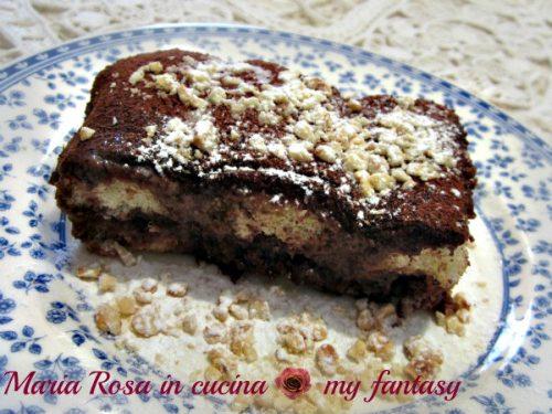 TIRAMISU' ALLA NUTELLA, ricetta dolce semifreddo