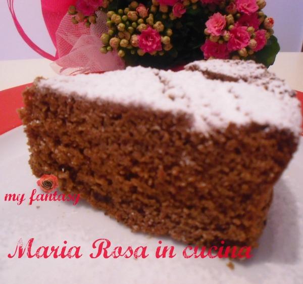 torta al cioccolato e cocco