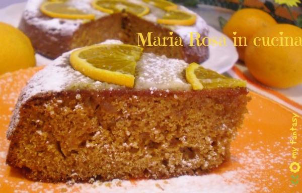 Torta agli agrumi-arancia e limone
