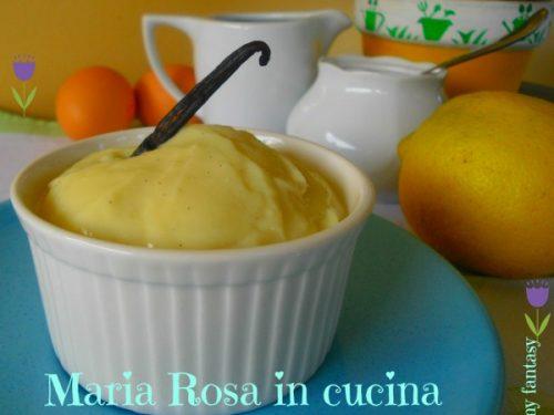 CREMA PASTICCERA, ricetta dolce