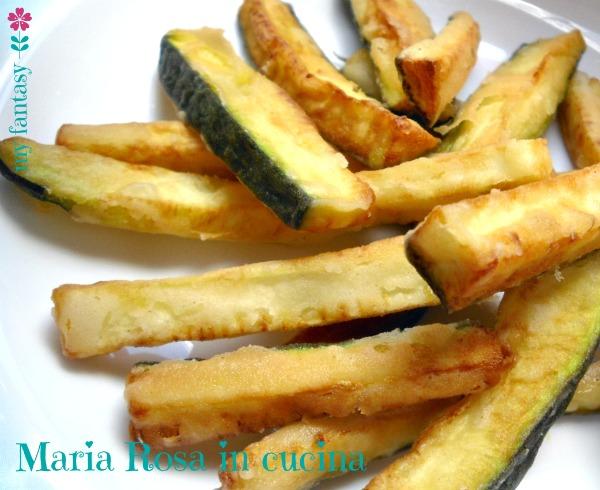 zucchine fritte-chips