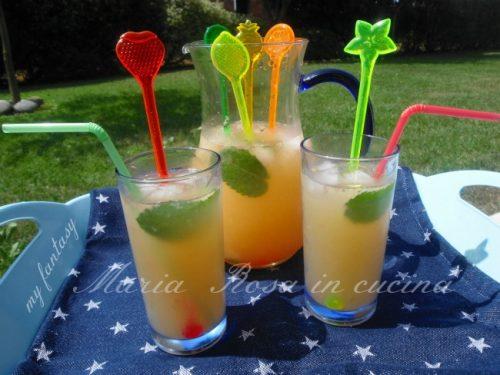 "BIBITA SUCCOSA, ricetta ""my summer drink"""